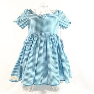 Toddler Gingham Dress Easter Dress custom made